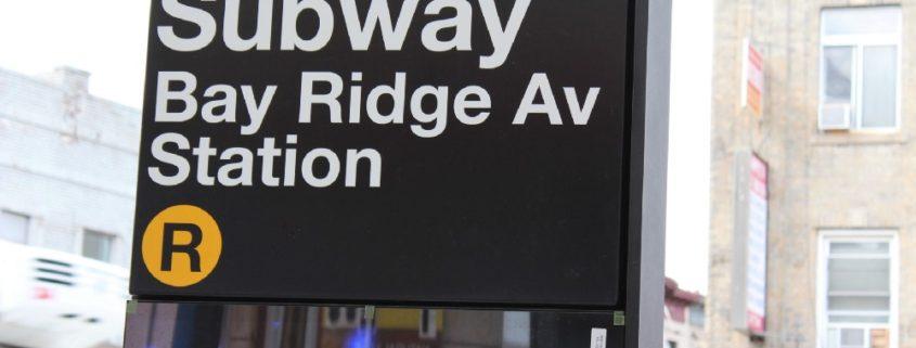 Bay Ridge Avenue Station Entrance